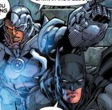 Batman and Cyborg