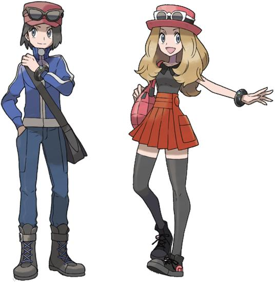 Trainer Girl (Pokemon X and Y) - ( Request) Minecraft Skin 2fb0a4e41