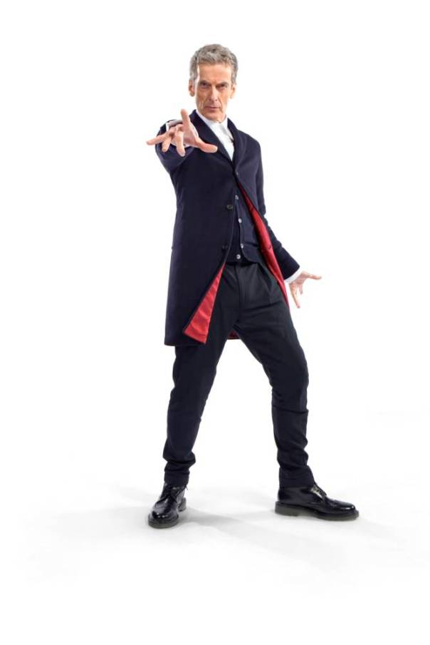 Doctor Who season 8 - Peter capaldi