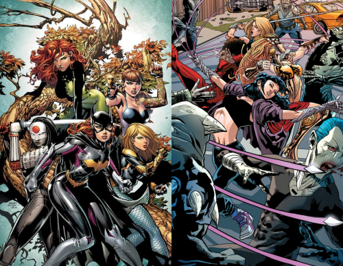 #2 - Birds of Prey and Fearless Defenders