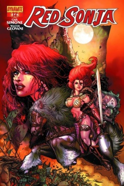Red Sonja #12 Variant by Joyce Chin and Ivan Nunes