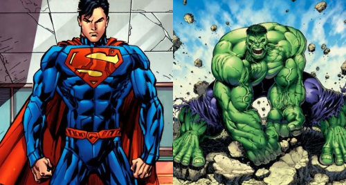#3 - Superman and Hulk