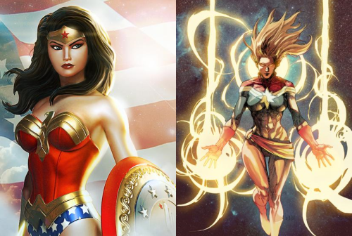 #5 - Wonder Woman and Captain Marvel
