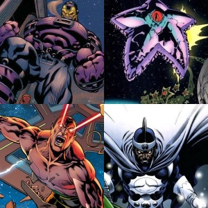 Justice League's Rogues Gallery