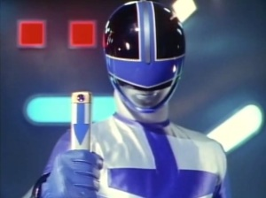 #2 - Lucas Kendall, the Blue Time Force Ranger