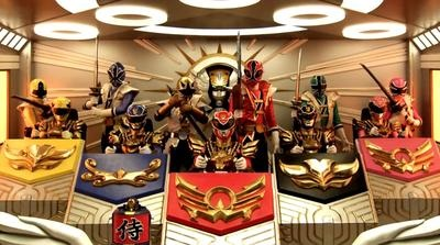 #7 - Megaforce and Samurai Team-Up