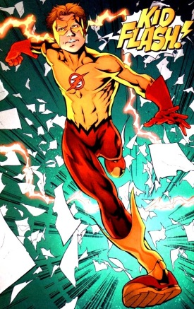 Bart Garrick, AKA Kid Flash