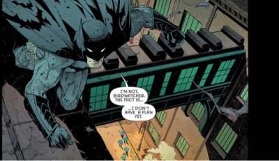 ...That, right there, is where Grayson should realize just how boned they are: BATMAN does not have a plan.