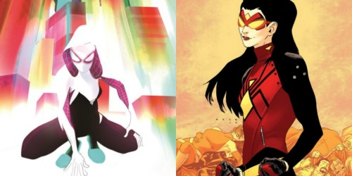 Spider-Woman (Gwen or Jessica depending)