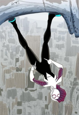 #3 - Gwen Stacy, AKA Spider-Woman