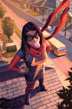 #1 - Kamala Khan, AKA Ms. Marvel