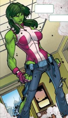 #9 - Jennifer Walters, AKA She-Hulk