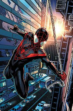 Miles Morales, AKA the Ultimate Spider-Man