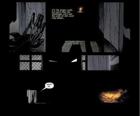 #1 - The Burning Horse from Batman #16