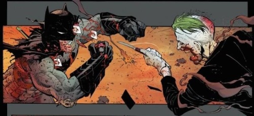 Batman vs Joker in Batman #40