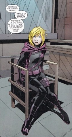Stephanie Brown Reveal in Batman #28