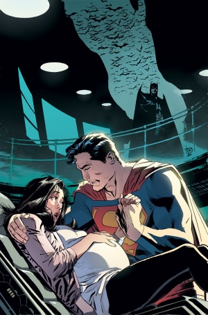 Seriously, I'm not buying anything Convergence related, but if I were, it'd be the Superman books