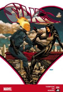 Silk #4 Cover