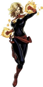 #4 - Carol Danvers, AKA Captain Marvel