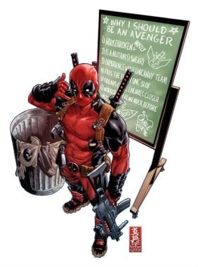 #8 - Wade Wilson, AKA Deadpool