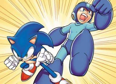 #1 - Sonic the Hedgehog and Mega Man