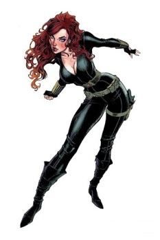 #10 - Natasha Romanoff, AKA Black Widow