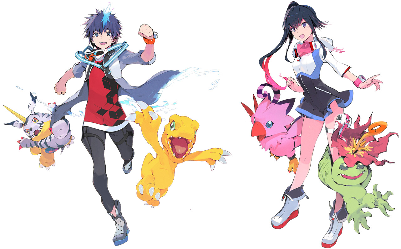 Digimon World: Next Order Takuto-and-shiki