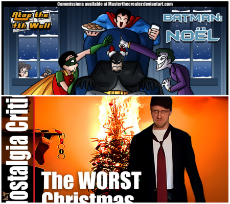 #4 - Atop The Fourth Wall, Batman Noël, and Nostalgia Critic, A Christmas Tree