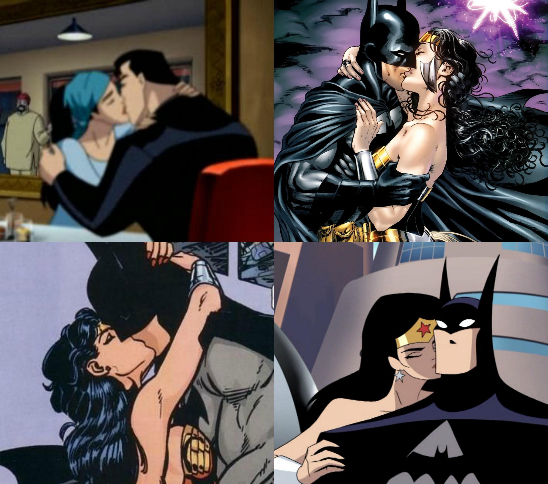with woman Batman wonder having sex