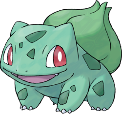 Bulbasaur, the Seed Pokémon
