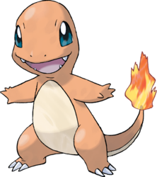 Charmander, the Lizard Pokémon