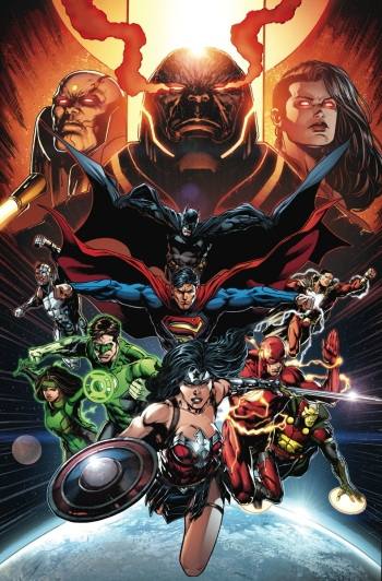 #1 - Keep Geoff Johns and Jason Fabok on Justice League