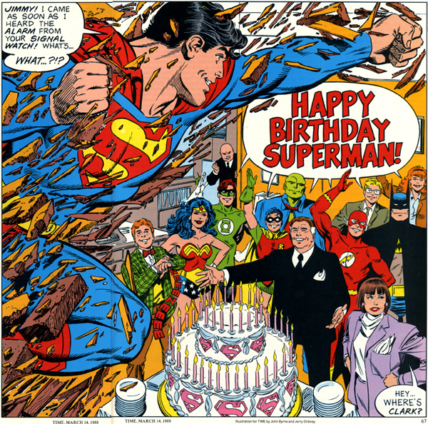 Superman Birthday