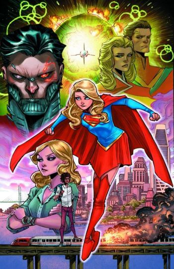 Supergirl going back to a more classic costume makes sense, especially since we have her show going right now. The only thing that's kinda weird is that we're keeping the story arc where her father is the new Cyborg Superman. It's just...odd.
