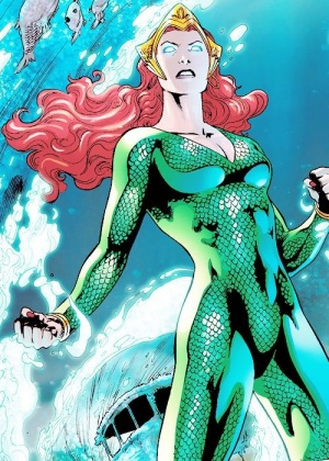 Mera, AKA DO NOT CALL HER AQUAWOMAN, YOU MOTHER FUCKERS! lol