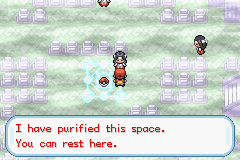 Oh good, a friendly one!... ... ...Wait, if this area is purified, why not corral all the other Channelers into this spot and let the energies undo the possession?