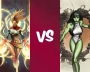 Marvelous May – Captain Marvel vs She-Hulk