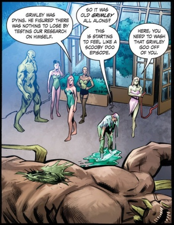 Ha ha, it's funny because that's the next thing DC is planning to make more modern and edgy. -_-