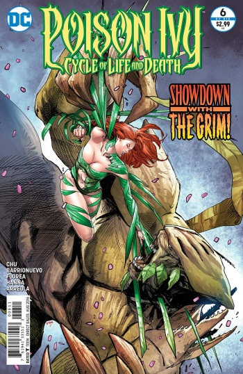 Thank God, her outfit on the cover isn't her costume in the comic. lol
